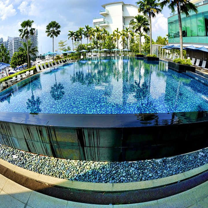 Huilong Hotel Outside Acrylic Swimming Pool