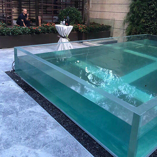 Fully Acrylic Swimming Pool