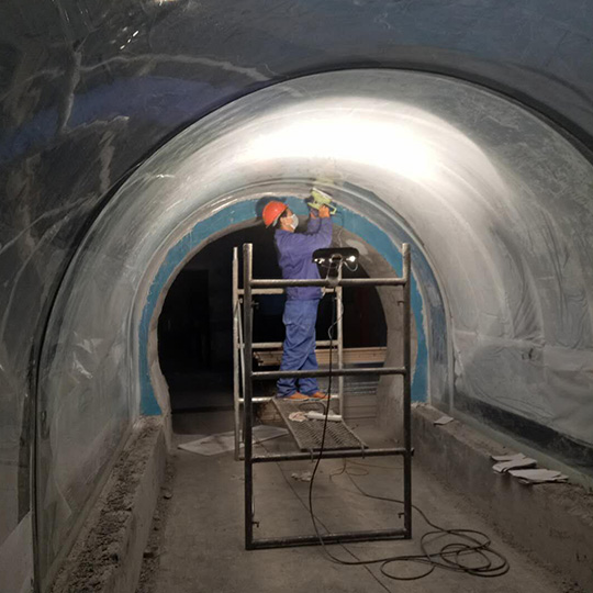 Acrylic Tunnel Site